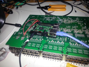 Switch as SFP breakout board